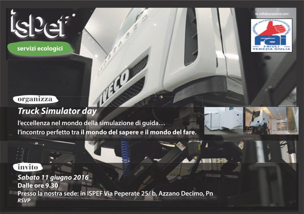 Truck Simulator Day Ispef 2016